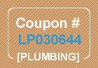 Plumbing Coupon Code LP030644
